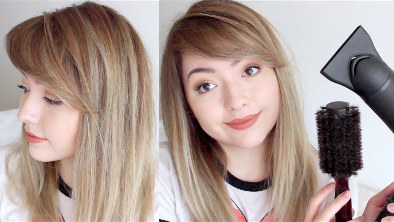 Peinados fleco de lado