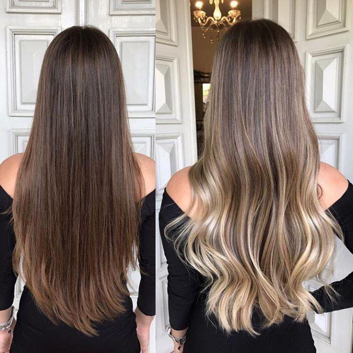 Reflejos en el cabello