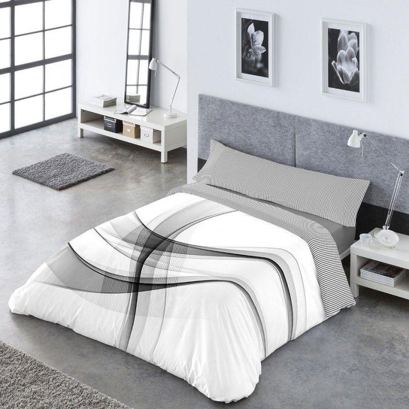 Combinar la funda con los textiles del dormitorio